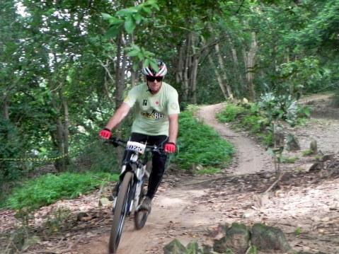 Atleta na trilha Short Track Giro Radical - 2 etapa Piauiense MTB 4